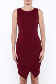She + Sky Textured Bodycon Dress - Side cropped