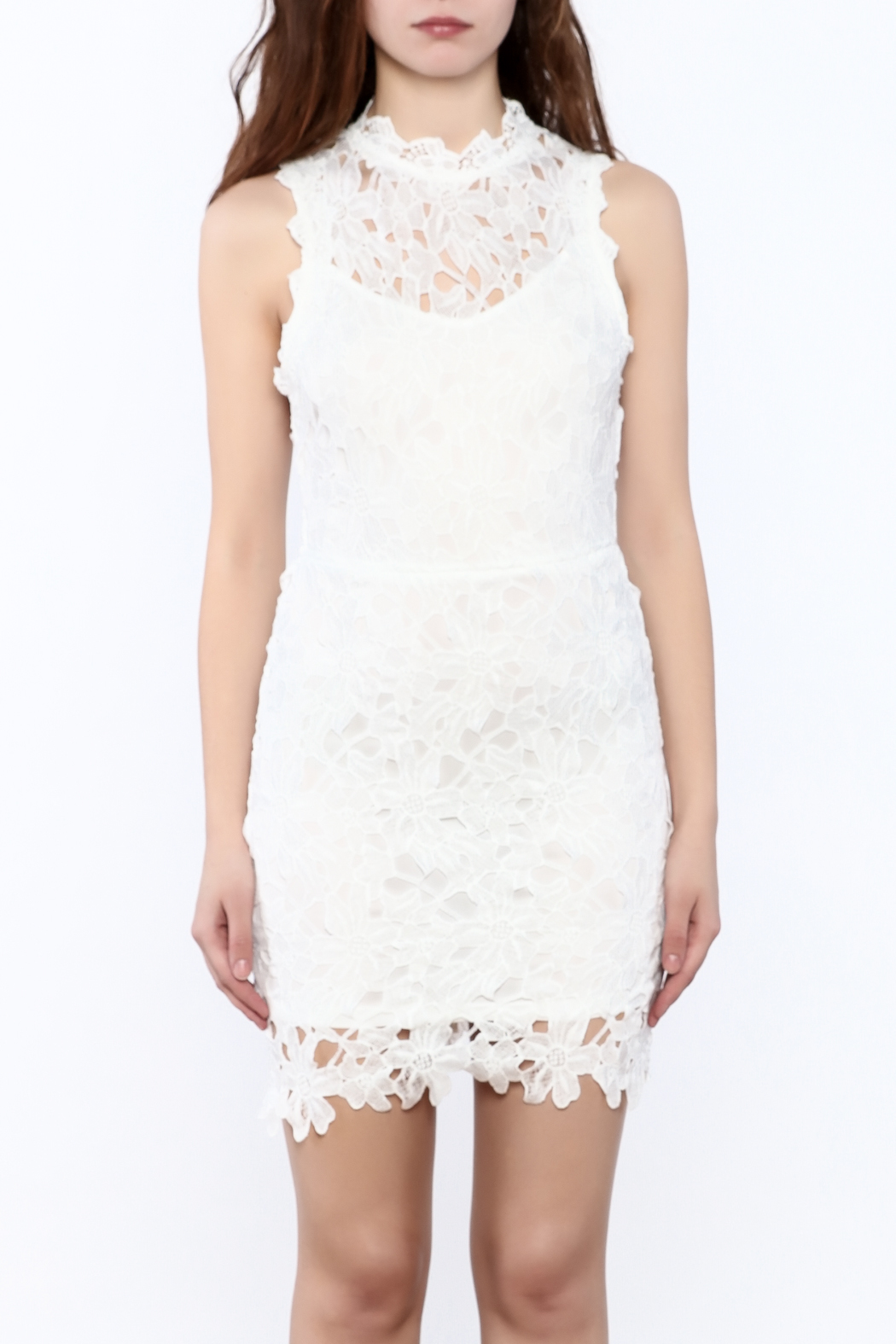 eb5bbe6359 She + Sky White Lace Dress from Ohio by Lou Lou s — Shoptiques
