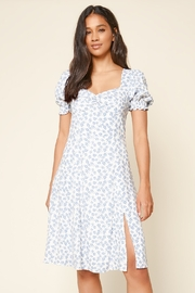 Sugarlips She's A Wildflower Floral Midi Dress - Back cropped