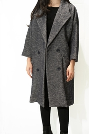 Rossopuro Double-Breasted Cocoon Overcoat - Product Mini Image