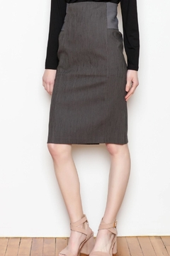 Shoptiques Product: Textured Pencil Skirt