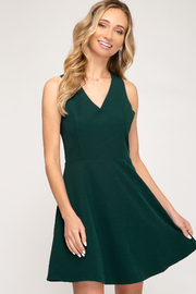 She + Sky Dress - Front cropped