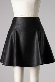 she+sky Mimi Faux-Leather Skirt - Side cropped