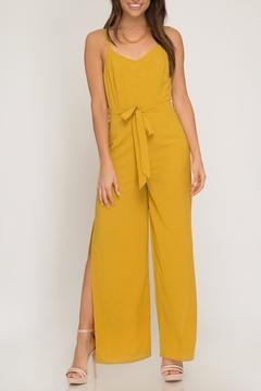 Shoptiques Product: Mustard Jumpsuit