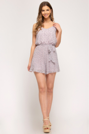She + Sky Romper - Other