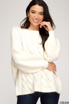 She + Sky Add Marshmallows Sweater - Product List Image