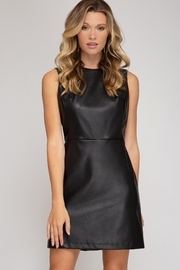 She + Sky After Party Dress - Front full body