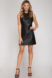 She + Sky After Party Dress - Front cropped