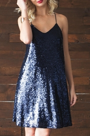 She + Sky Alexa Sequin Dress - Front cropped