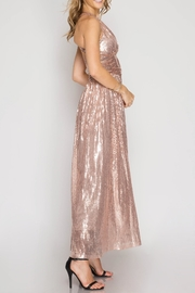 She + Sky Angelina Sequin Dress - Front full body