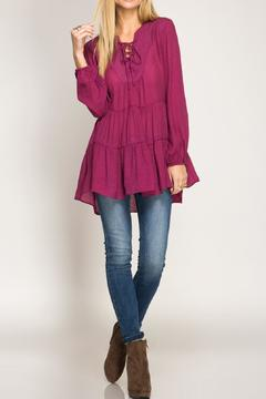 Shoptiques Product: Babydoll Tunic Top