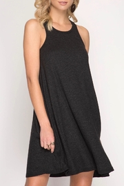 She + Sky Basic Ribbed Dress - Product Mini Image