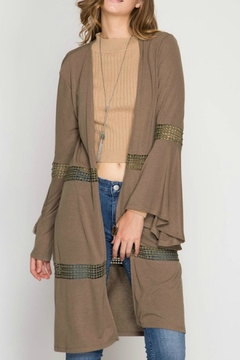 Shoptiques Product: Bell Sleeve Cardigan