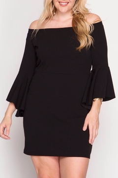 She + Sky Bell Sleeve Dress - Product List Image