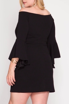 She + Sky Bell Sleeve Dress - Alternate List Image