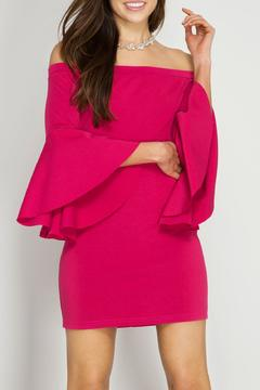 Shoptiques Product: Bell Sleeve Dress