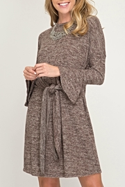 She + Sky Bell Sweater Dress - Product Mini Image