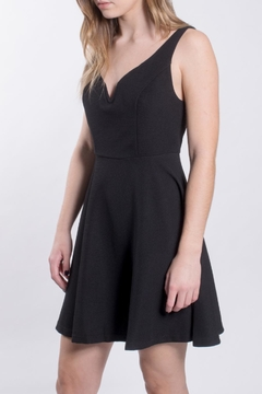 She + Sky Black A Line Dress - Product List Image