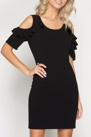 She + Sky Black Beauty Dress - Product Mini Image