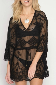 Shoptiques Product: Palmilla Black Cover-Up