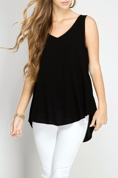 Shoptiques Product: Black Open Back Top