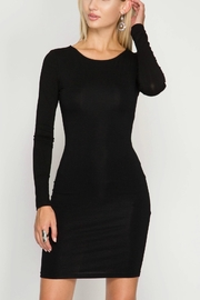 She + Sky Bodycon Dress - Front cropped