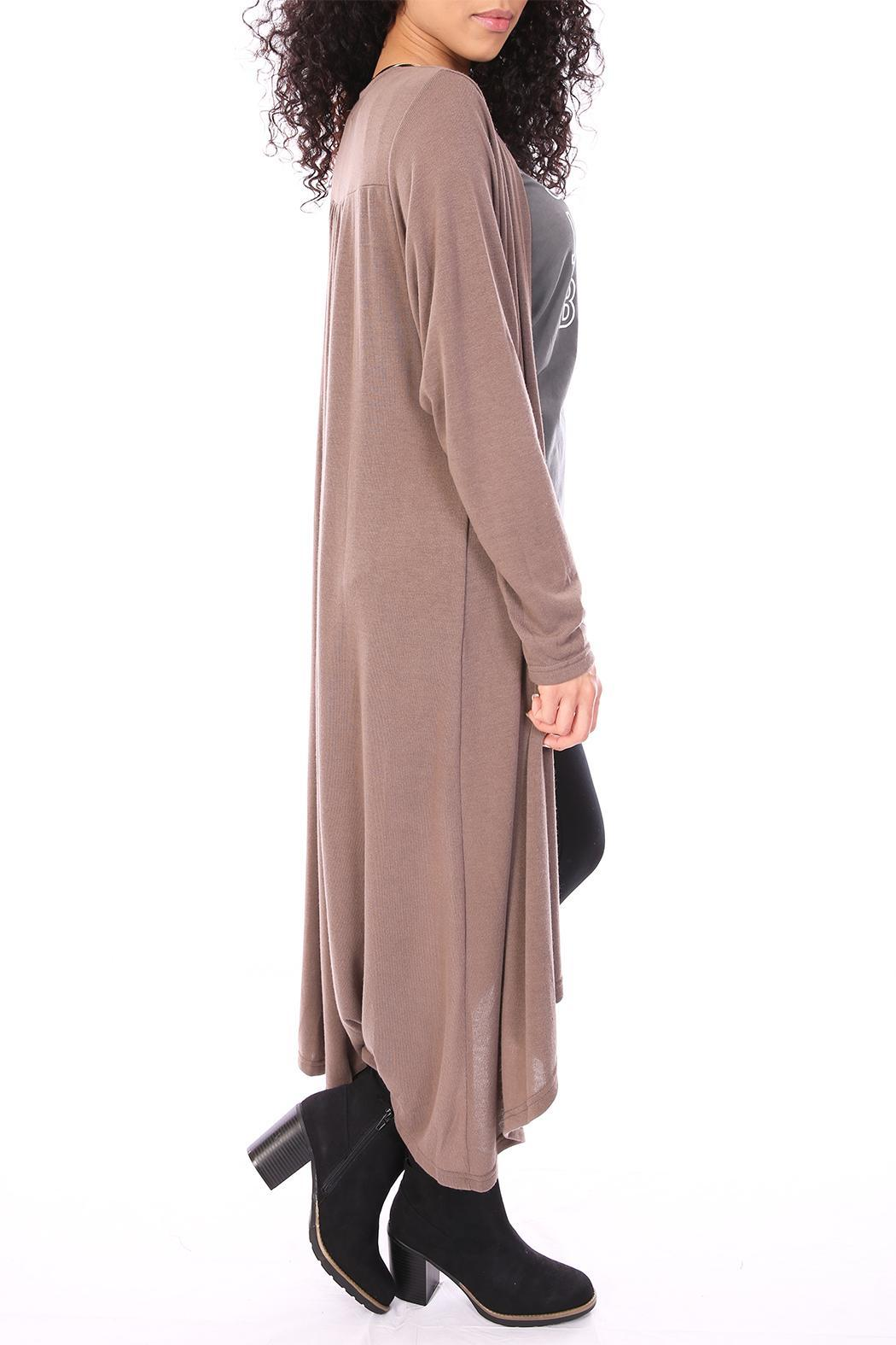 She Sky Brown Duster Cardigan From Dallas By Tangled