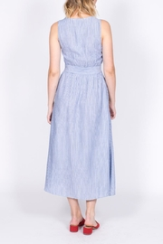 She + Sky Button Down Midi Dress - Back cropped