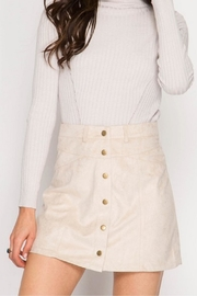 She + Sky Button Front Skirt - Product Mini Image