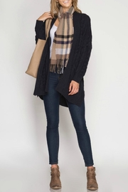 She + Sky Cable Knit Cardigan - Product Mini Image