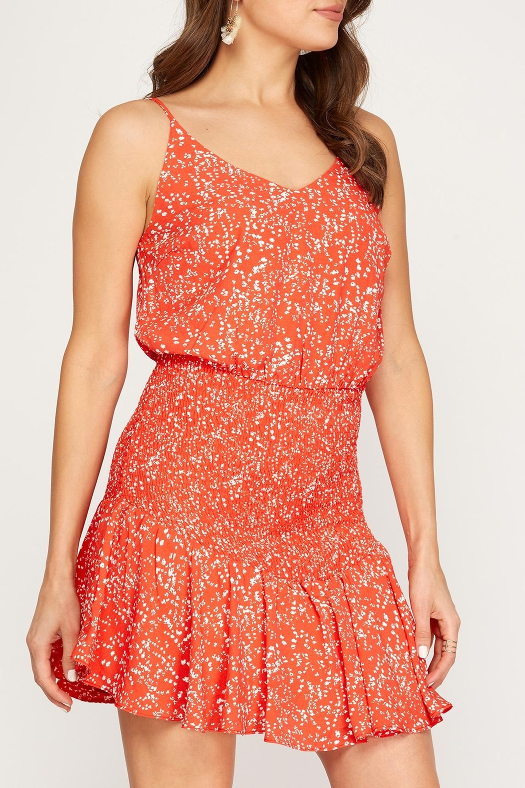 She + Sky Cabo Cami Dress - Front Full Image