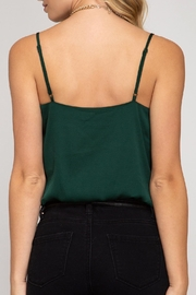 She + Sky Cami Bodysuit - Front full body