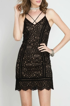 She + Sky Cami Lace Dress - Product List Image