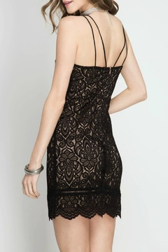 She + Sky Cami Lace Dress - Alternate List Image