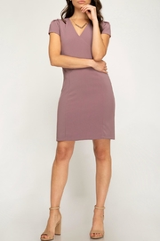 She + Sky Capsleeve Fitted Dress - Other