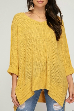 She + Sky Carrina Knit Top - Product List Image