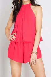 She + Sky Cherry Pink Romper - Other