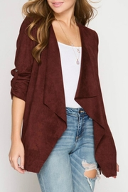 She + Sky Chestnut Blazer - Product Mini Image
