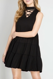 She + Sky Crisscross Spaghetti Dress - Product Mini Image