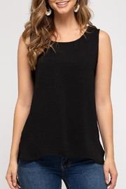 She + Sky Classic Sleeveless Top - Front cropped