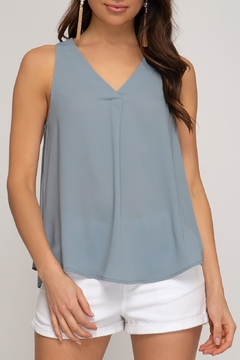 1b3a7ea53a73 ... She + Sky Classic V-Neck Tank - Product List Placeholder Image