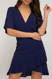 She + Sky Cocktail Hour Dress - Front cropped