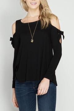 Shoptiques Product: Cold Shoulder Sleeves