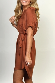 She + Sky Collared High-Low Dress - Other