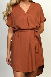 She + Sky Collared High-Low Dress - Side cropped