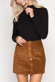 She + Sky Corduroy Mini Skirt - Product Mini Image