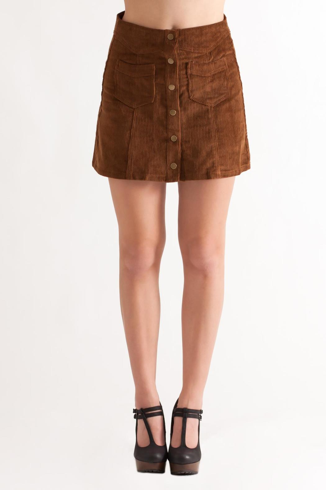 She   Sky Corduroy Mini Skirt from Philadelphia by May 23 — Shoptiques