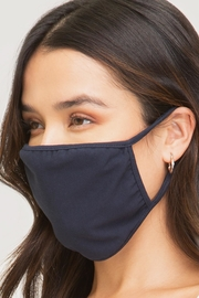 She + Sky Cotton Face Mask - Front cropped