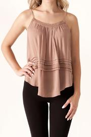 She + Sky Crisscross Back Cami - Product Mini Image