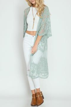Shoptiques Product: Crochet Lace Duster